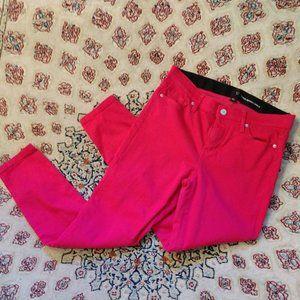 NY&Co Vibrant Pink Skinny Jeans